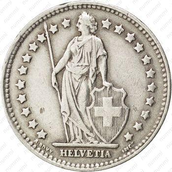 1 франк 1944 - Аверс