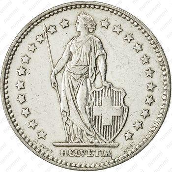 2 франка 1920 - Аверс