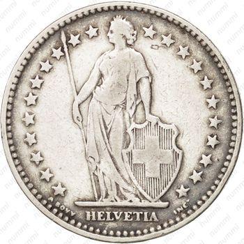 2 франка 1921 - Аверс