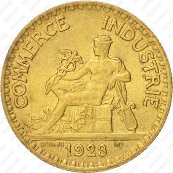 2 франка 1923 - Аверс