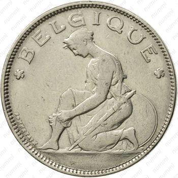 2 франка 1923, надпись на французском - Аверс