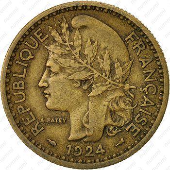 2 франка 1924 - Аверс