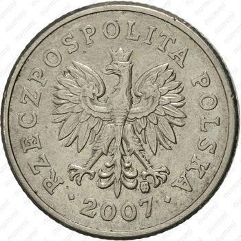 20 грошей 2007 - Аверс