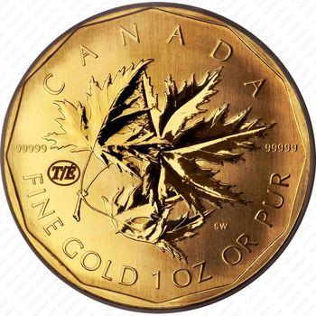200 долларов 2007, Канада - Реверс