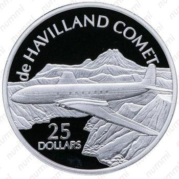 25 долларов 2003, Comet - Реверс