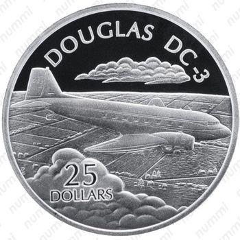 25 долларов 2003, DC-3 - Реверс