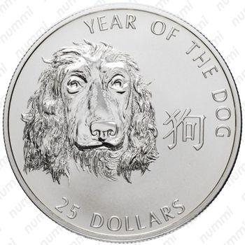 25 долларов 2006 - Реверс