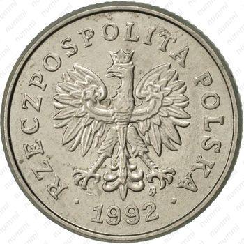50грошей 1992 - Аверс