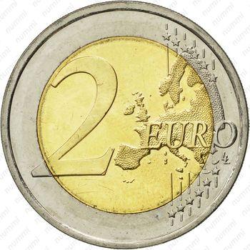 2 евро 2013, парламент Финляндия - Реверс