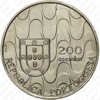 200 эскудо 1992, Евросоюз - Аверс