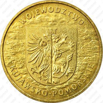 2 злотых 2004, Куявско-Поморское воеводство - Реверс