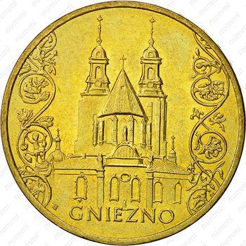 2 злотых 2005, Гнезно - Реверс
