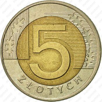 5 злотых 1994 - Реверс