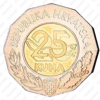 25кун 2004, Хорватия - кандидат членства в Европейском Союзе [Хорватия] - Реверс