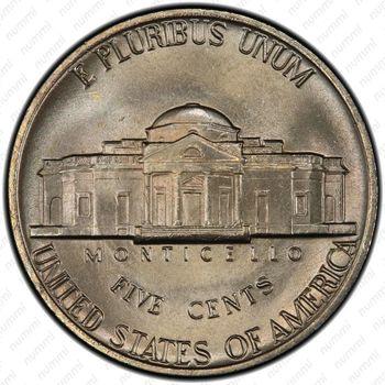 5 центов 1979, Томас Джефферсон - Реверс