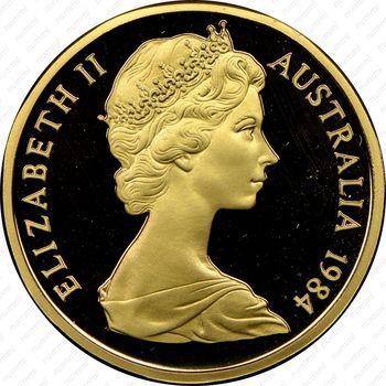 1 доллар 1984 - Аверс