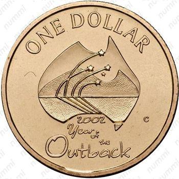 1 доллар 2002, отдаленные районы Австралии