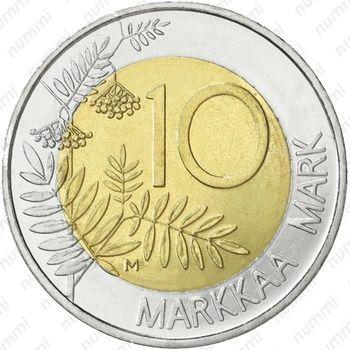 10 марок 1999, председательство Финляндии