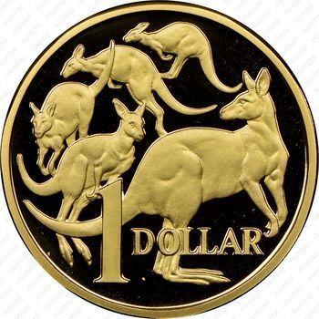 1 доллар 1984 (реверс)