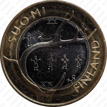 5 евро 2011, Лапландия