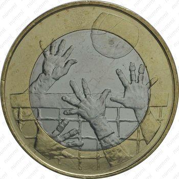 5 евро 2015, волейбол - Реверс