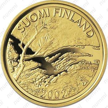 100 евро 2002, полярный день