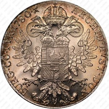 1 талер 1780, талер Марии Терезии