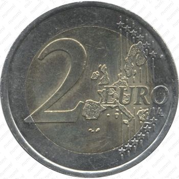 2 евро 2001, регулярный чекан Франции - Реверс