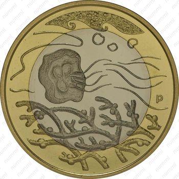 5 евро 2014, вода - Реверс