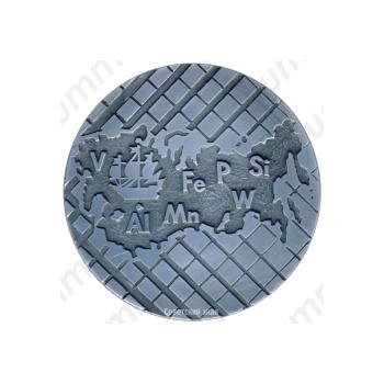 Настольная медаль «Ленинградская картографическая фабрика»