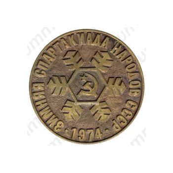 Настольная медаль «III зимняя спартакиада народов СССР»